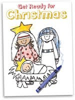 Free Childrens Advent Booklet