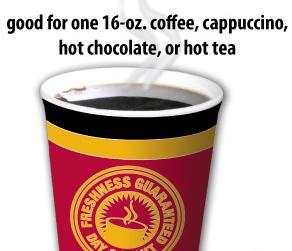 Hot Chocolate Coupon