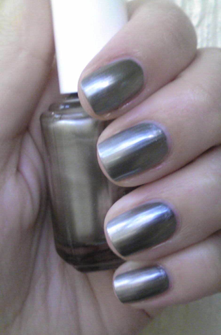 Polish or Perish: Metallic Trend: Essie Steel-ing the Scene & Chanel ...