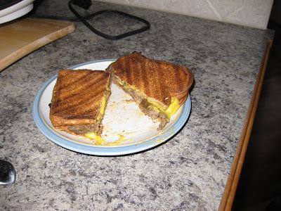 Bossystyle BBQ Brisket Breakfast Sandwich