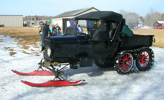 model T snow