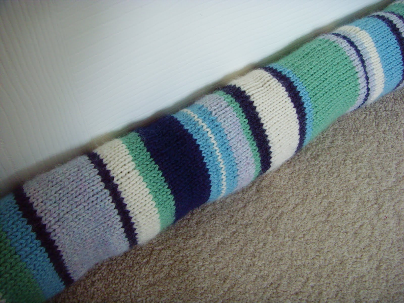 Crafternoon Helens Wedding Draught Excluder