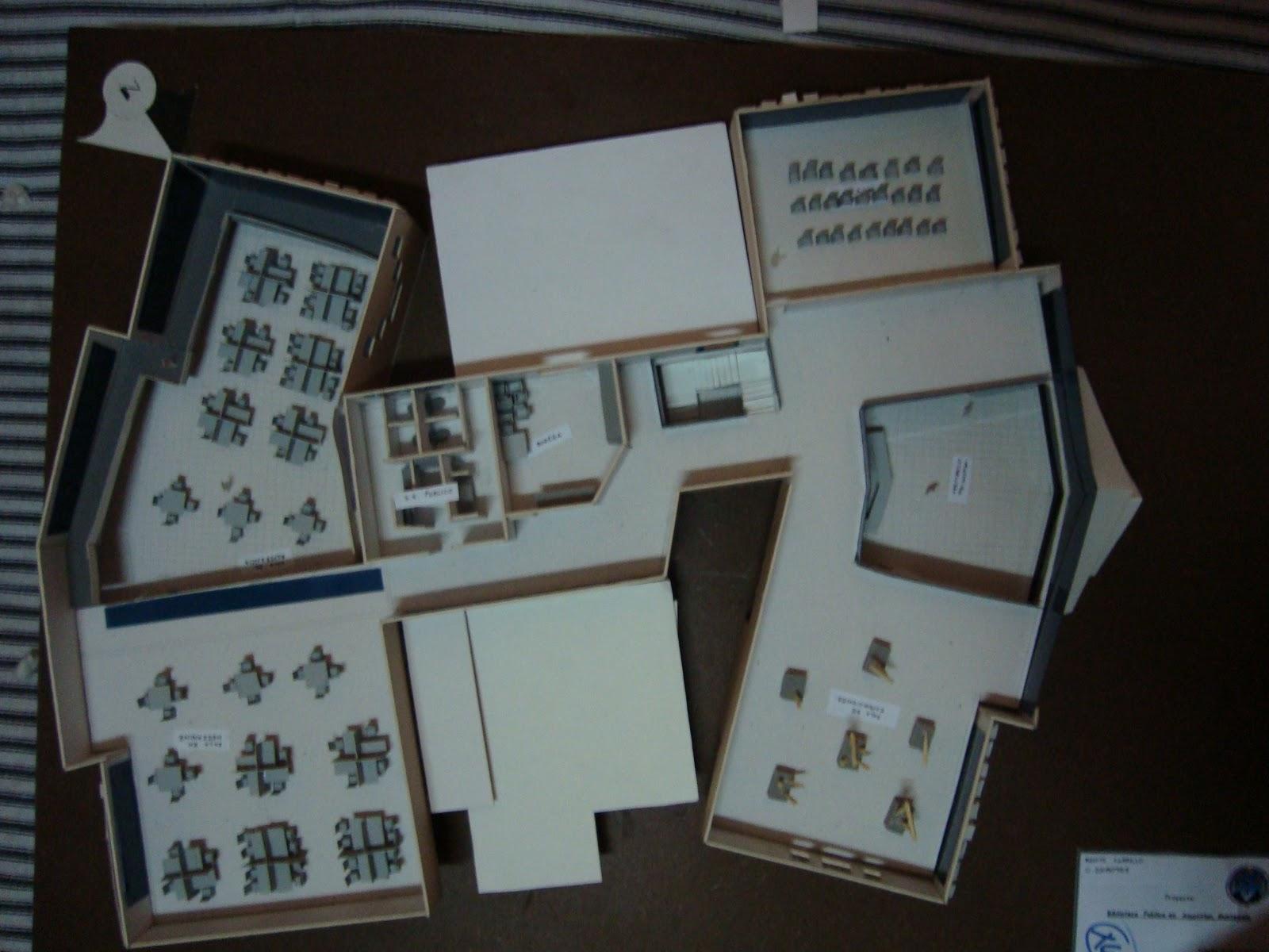 Portafolio virtual dise o arquitectonico ii for Planta arquitectonica biblioteca