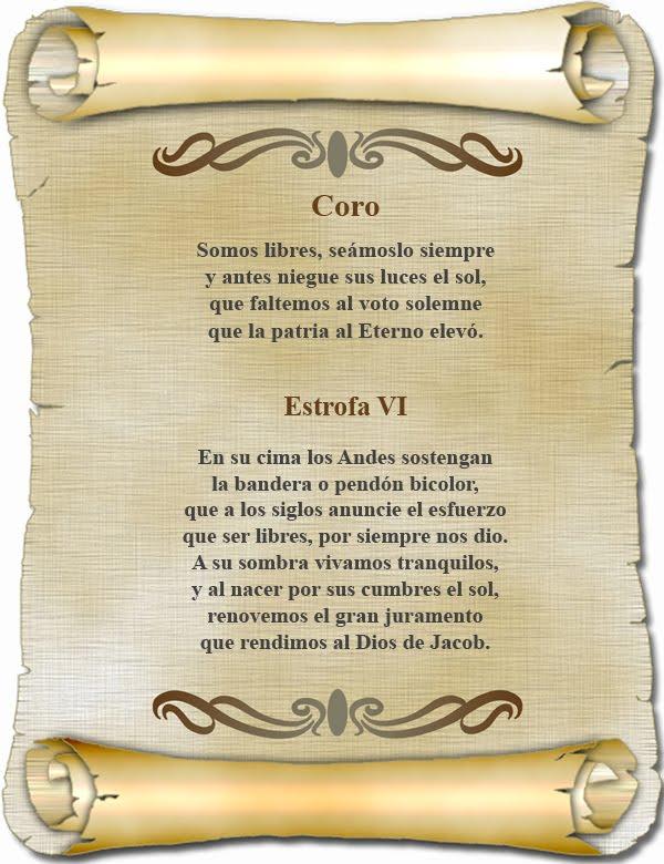 himno nacional del peru: