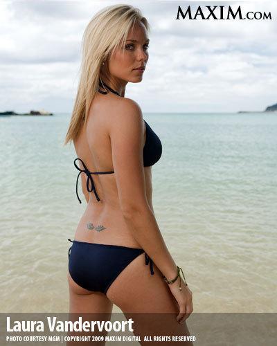 Laura vandervoort bikini