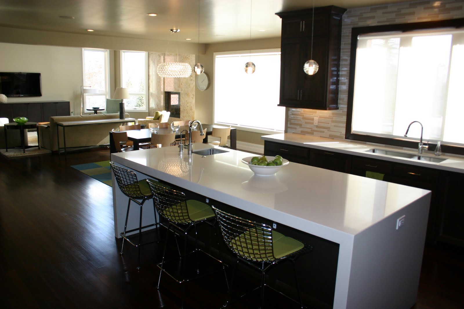 photos are from the same house from our portfolio . The countertops ...