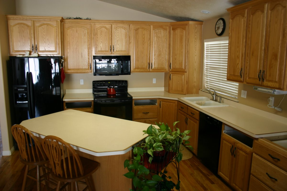 Kitchen Looks The Granite Gurus Before And After Lapidus Granite Kitchen