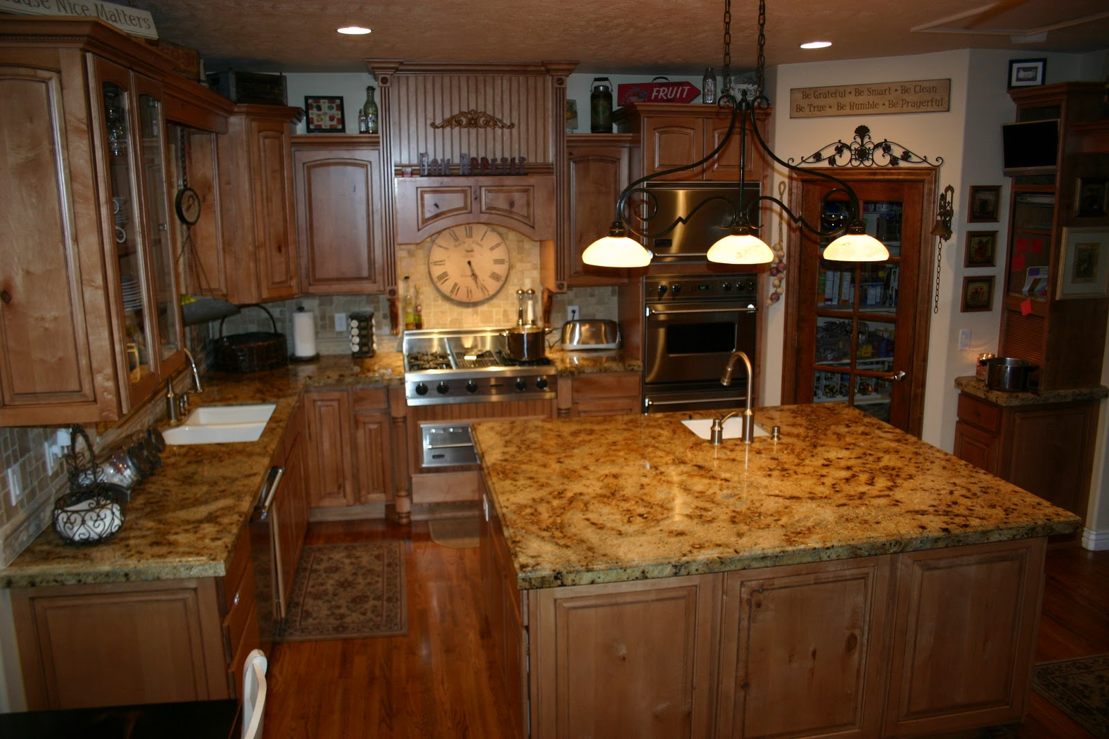 Kitchens With Lapidus Granite Countertops : The granite gurus lapidus kitchen