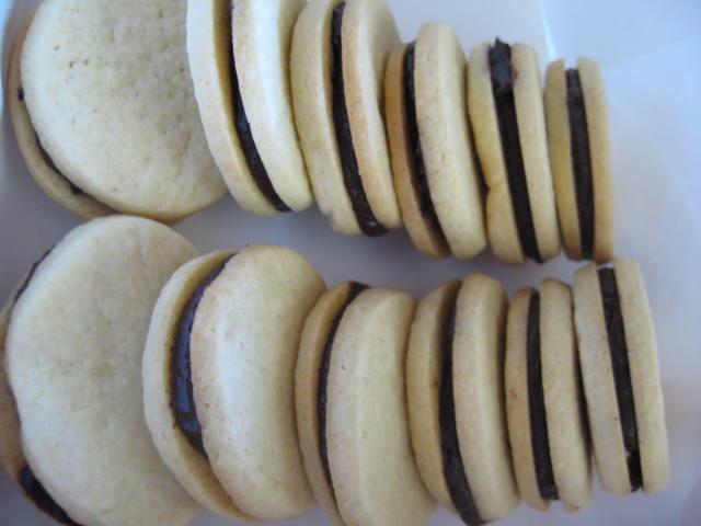 ButterBittersweet Sandwich Cookies