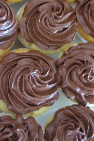 Buttermilk Cupcakes w/ Milk Choc. Frosting
