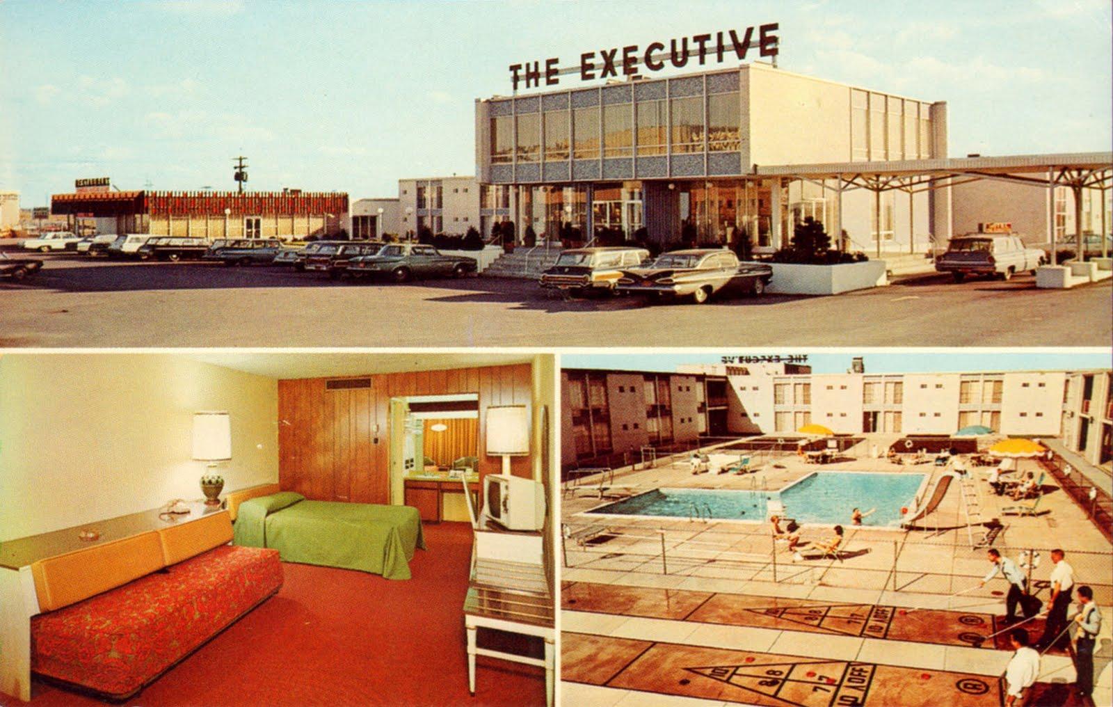 Vintage Chrome Postcards The Executive