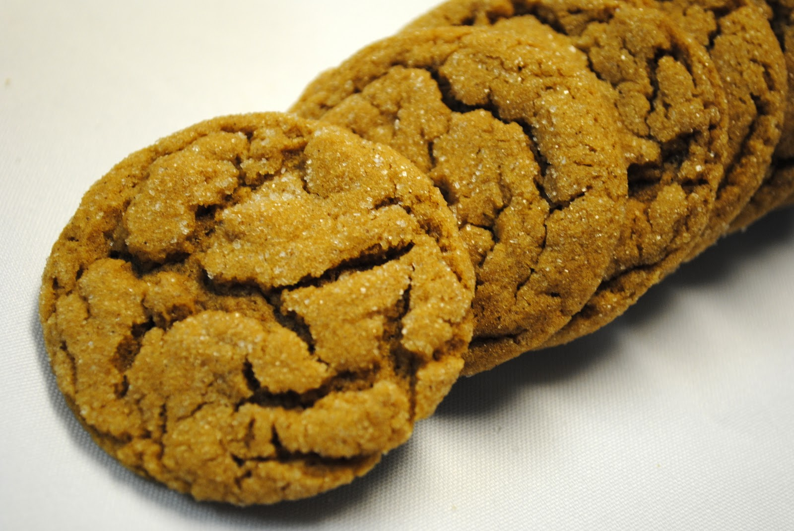 Wannabe Culinarian: Chewy Ginger Cookies