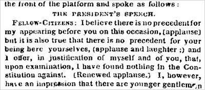 L'émoticône d'Abraham Lincoln