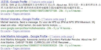 Personnaliser l'adresse URL de votre profil Google