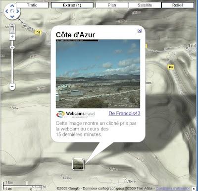 Google Maps offre un réseau de webcams dans le monde entier