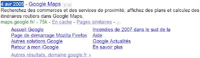 Afficher la date de publication d'un domaine ou d'une page web avec Google