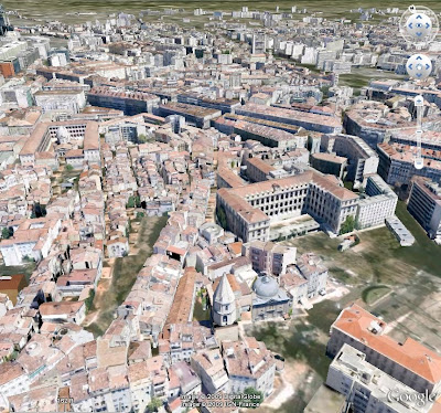 Marseille en 3D dans Google earth
