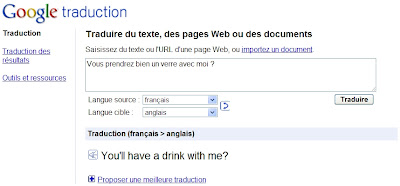 Google Traduction : traduction phonétique et synthèse vocale
