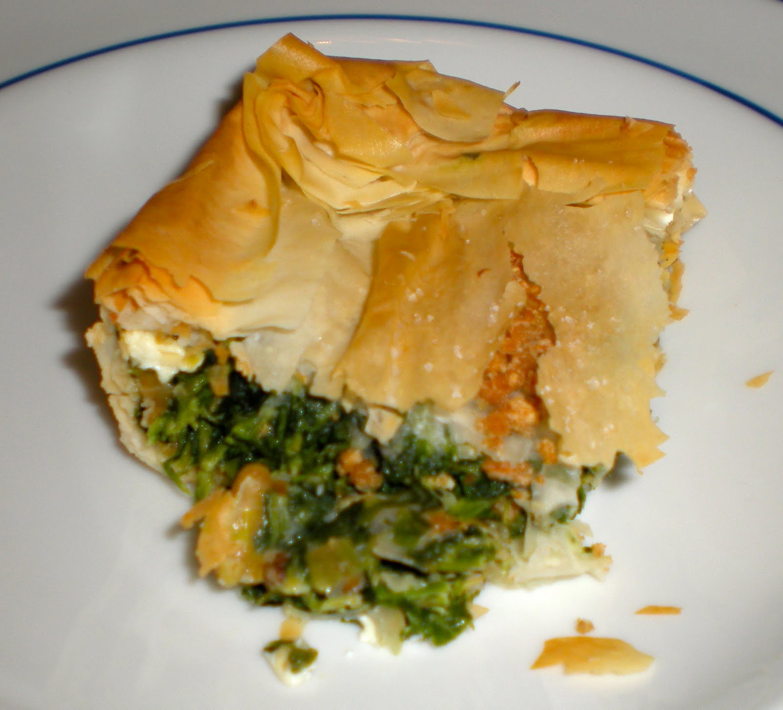 edible ventures: Spanakopita