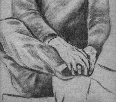 crossed legs drawing