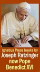 Books written by Joseph Ratzinger/Pope Benedict XVI