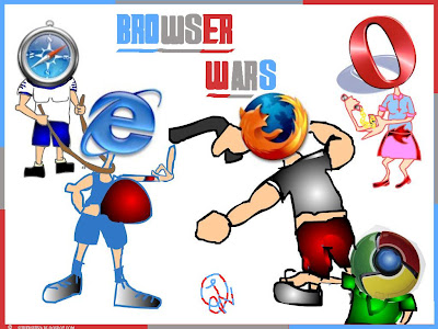 The Browser Wars!! © CrAzYbLoG