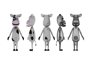 Final Degree Animation - Betty Model Sheet