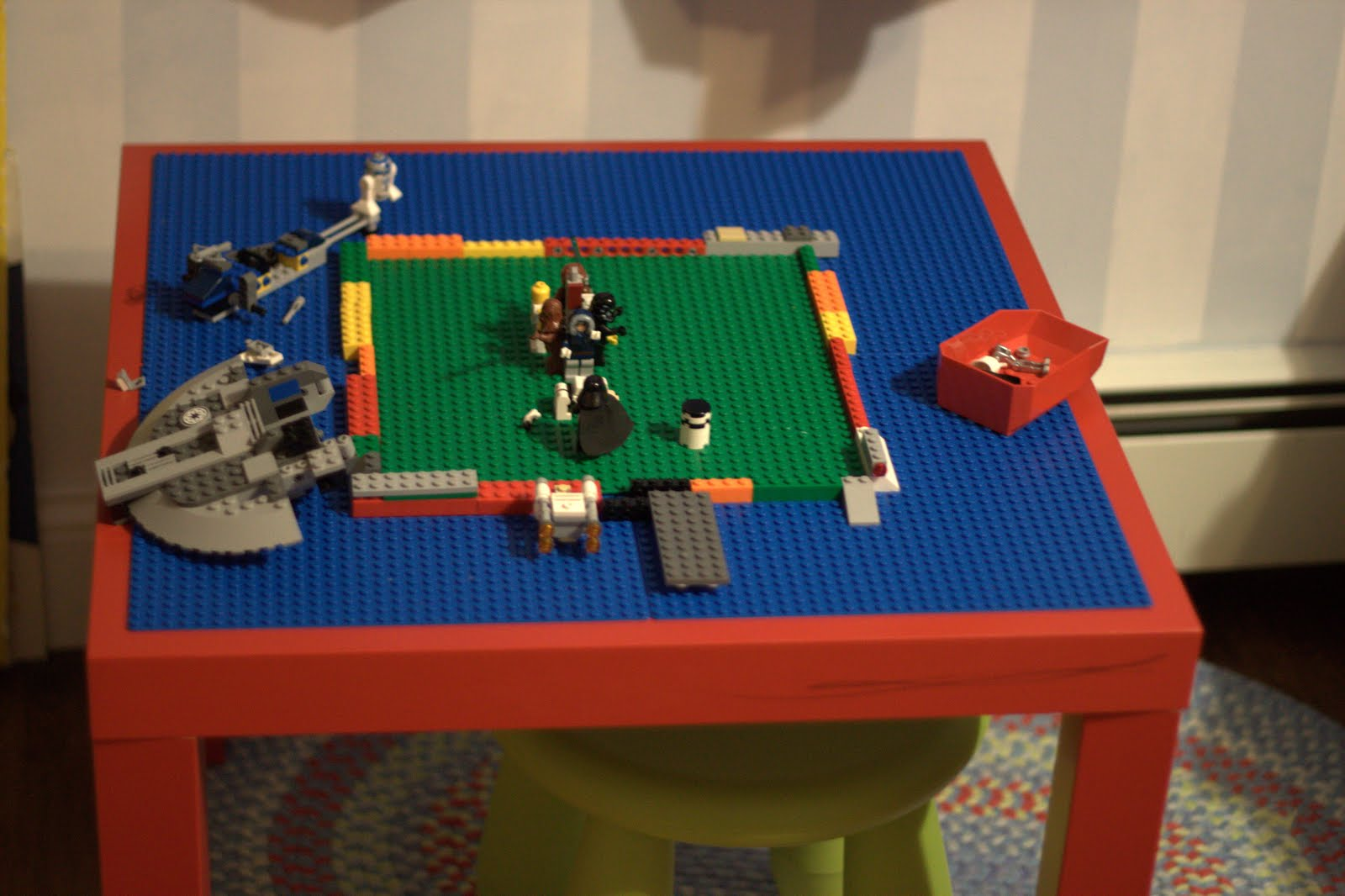 A Better Dream Lego Table Diy