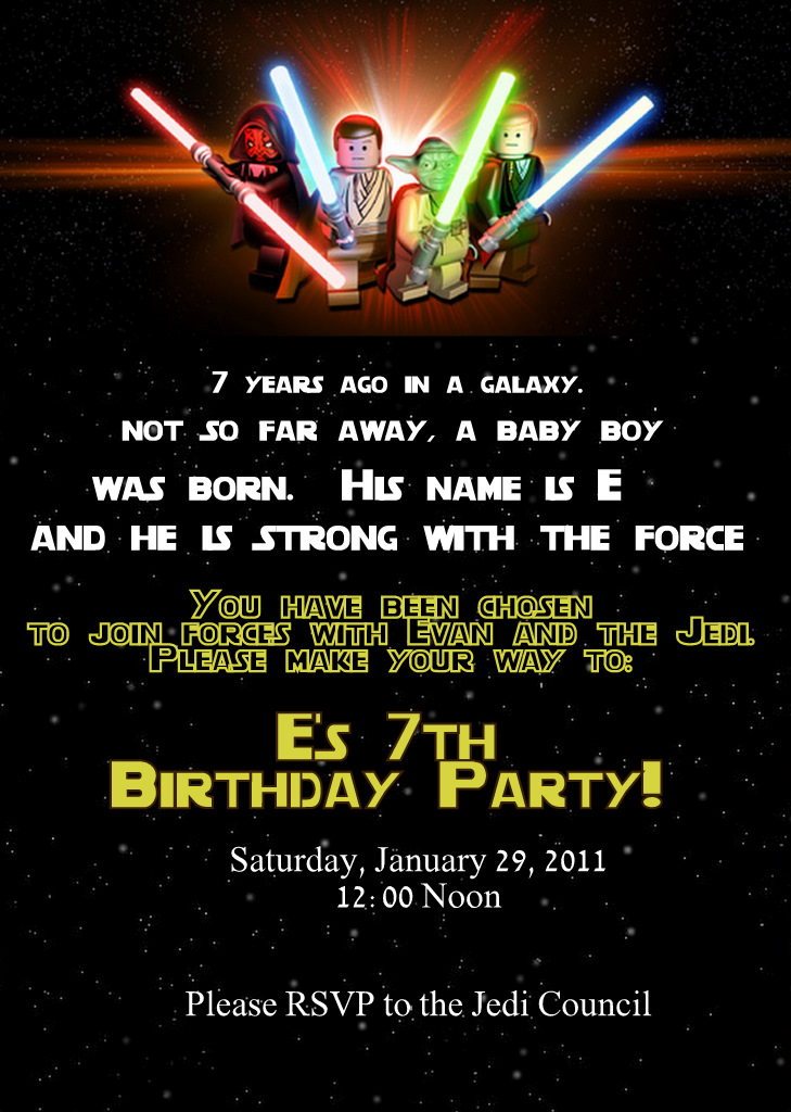 A Better Dream: Lego Star Wars Party Part II