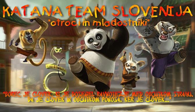 """Katana Team Slovenija """"otroci in mladostniki"""""""