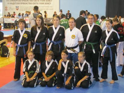 Slovenska kadetska in mladinska reprezentanca,Svetovno prvenstvo v kickboxingu WAKO Beograd 2010