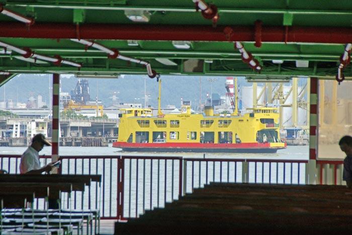 Penang casino ship