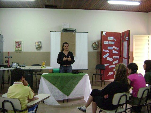 Workshop com alunos