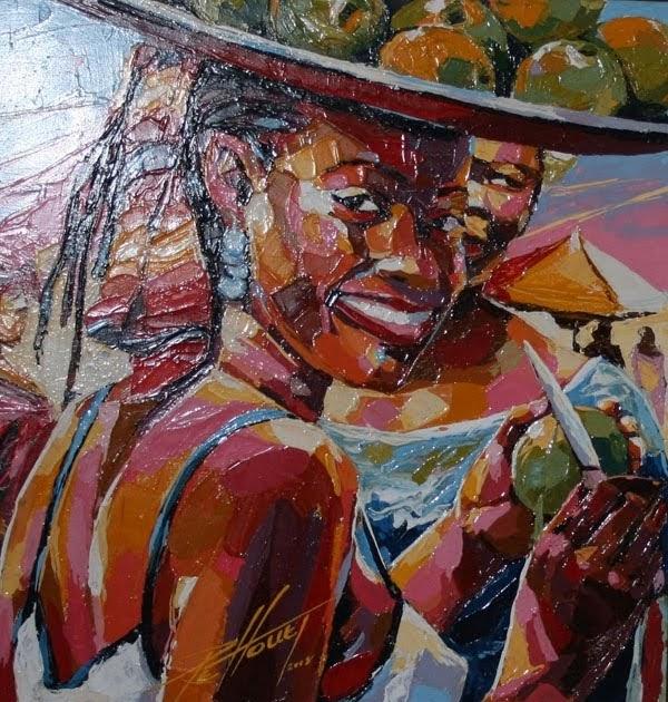 Sanou a vernissages expositions les peintres ivoiriens vivent ils de leur art - Cote d un artiste peintre ...