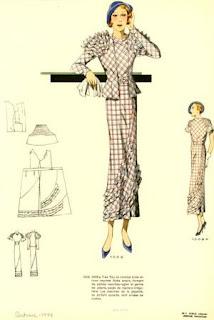 Из журнала мод 1934 года