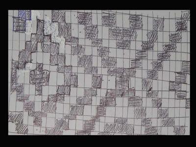 Hasil Anyaman dari kertas :