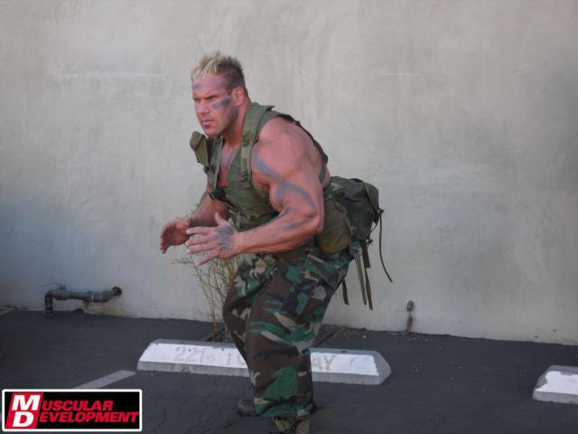 Jay Cutler Army Photoshoot 2011
