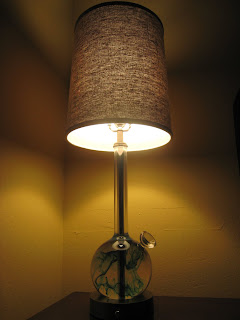 Perhaps If I Had I Would Have Been Prepared For The Bras, The Naked People  And The Bong Lamps. Bong Lamps? Oh Yes, Bong Lamps:
