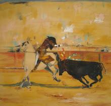 Torero on horse