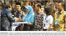 Juara 1 Lomba Guru Ideal jawa Timur 2009