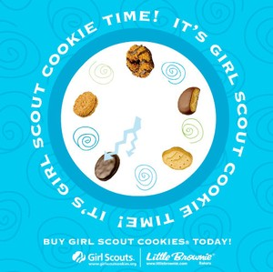 Girl Scout Cookies: Girl Scout Cookie Orders Start Today