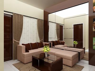 Contoh Interior Rumah on Interior Apartemen 2011  Living Room   Interior Rumah Contoh