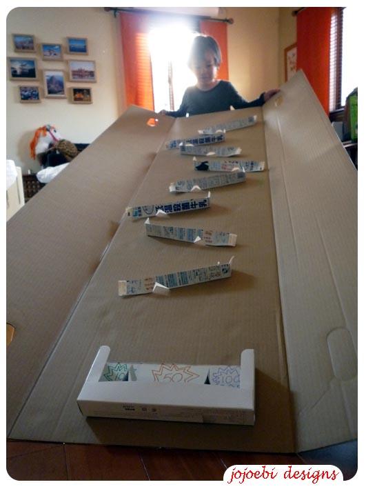 Jojoebi Designs Cardboard Box Marble Run Tutorial