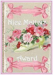 Nice matters award - Awarded by Moo