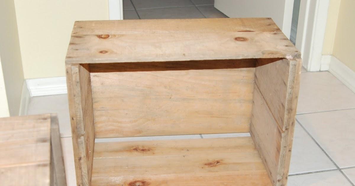 diy splendid living apple crate bookshelves. Black Bedroom Furniture Sets. Home Design Ideas