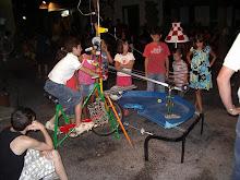juegos locos en la plaza