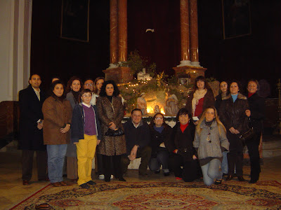 Representantes de las Hermandades organizadoras del evento