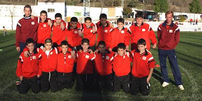El equipo Infantil A, ganador de la jornada