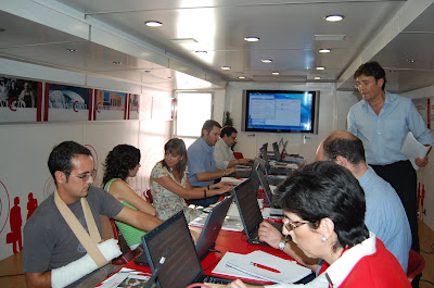 Los participantes en las jornadas durante su celebración