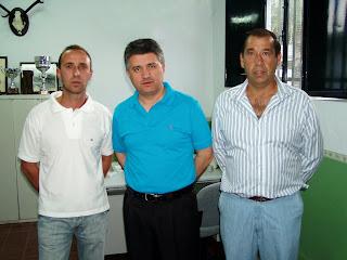 Juan Carlos Blanco, Mario Martínez y Manuel Benítez